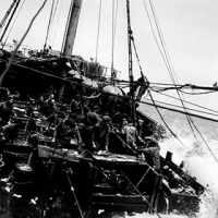 © ANITA CONTI / AGENCE VU TRAVAIL DE LA MORUE DANS LES PARCS DU VIKINGS MER DE SVALBARD 1939 N°10692