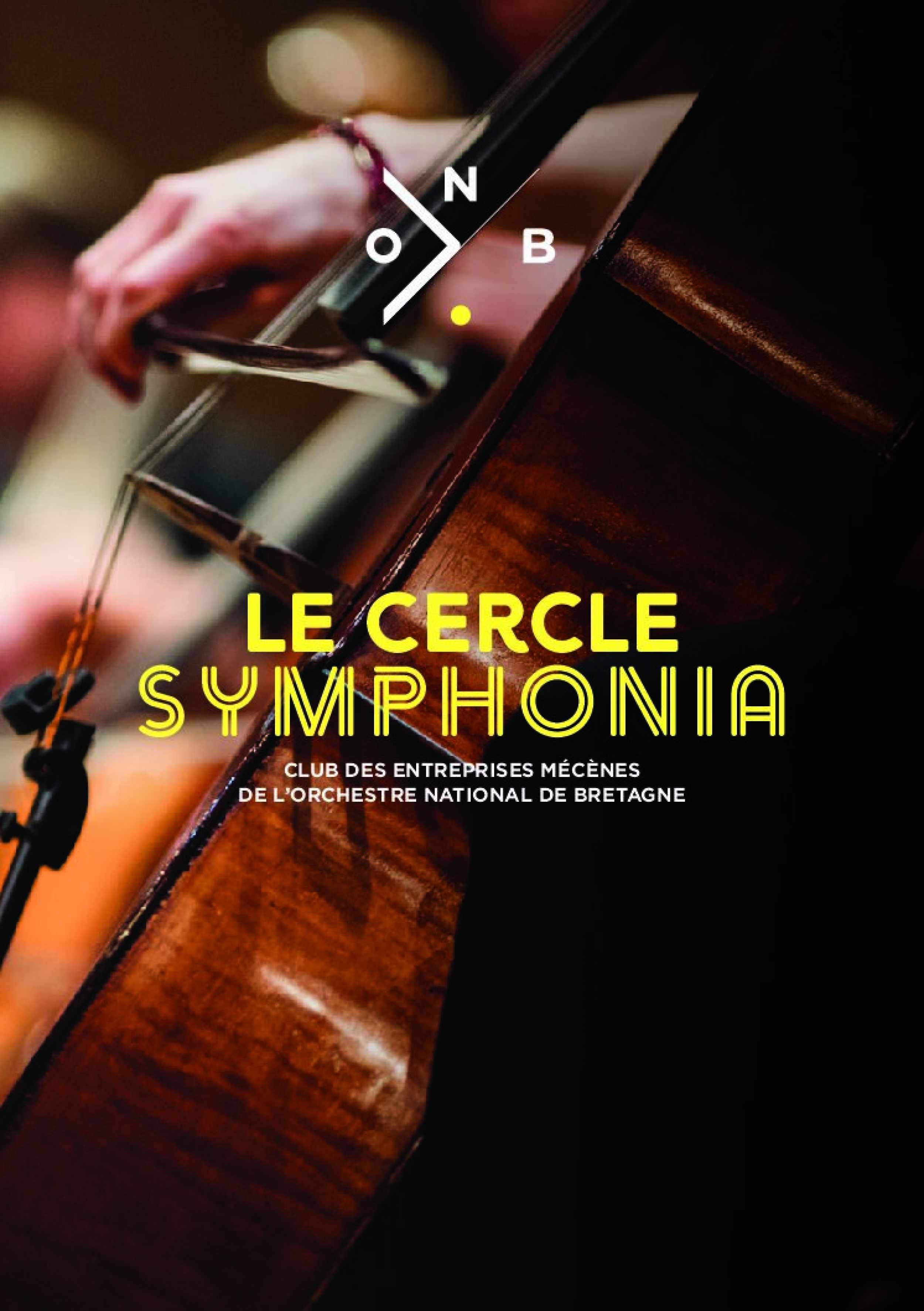 Brochure du Cercle Symphonia