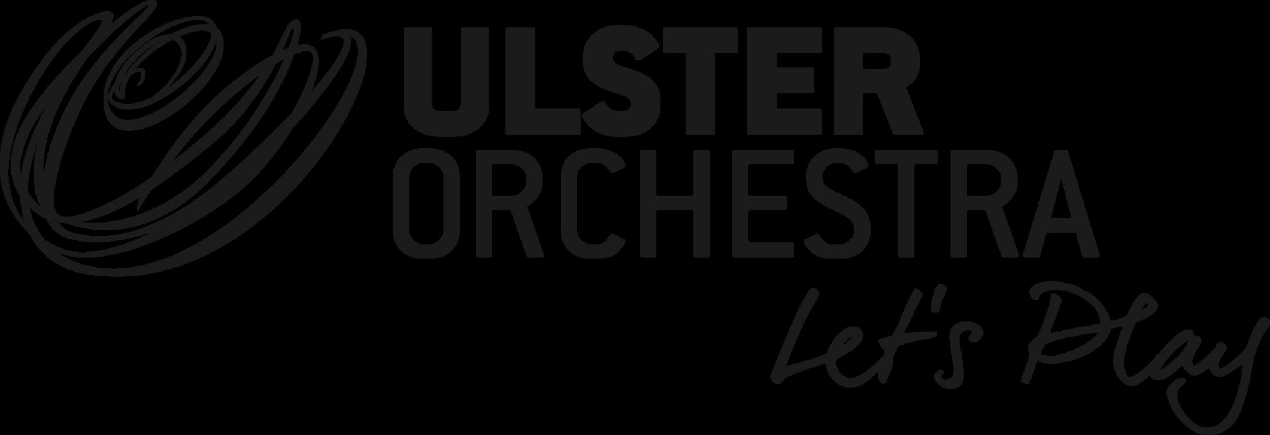Ulster Orchestra Grey_strapline